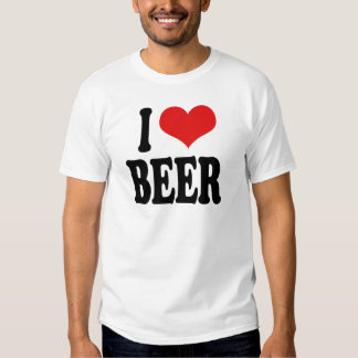 Amo la cerveza remera