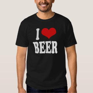 Amo la cerveza remeras