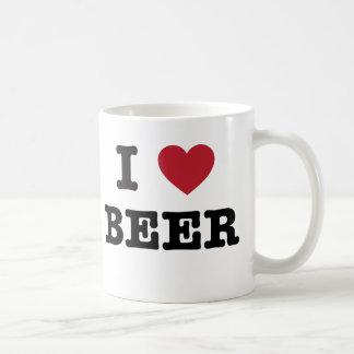 amo la cerveza tazas de café
