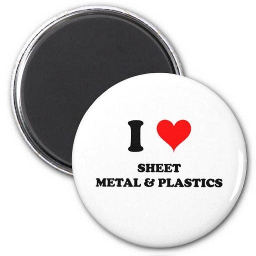 Amo la chapa y los plásticos iman