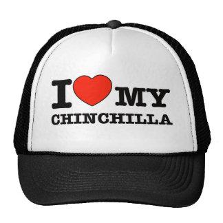 Amo la chinchilla gorras de camionero