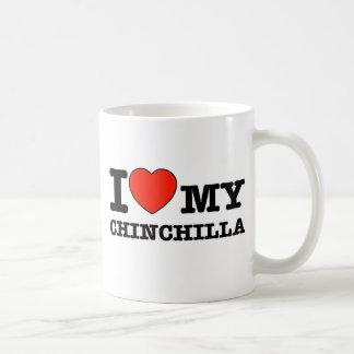 Amo la chinchilla taza