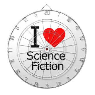 Amo la ciencia ficción tablero dardos