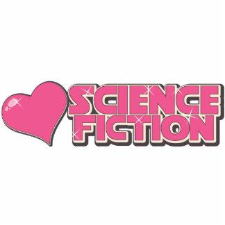 Amo la ciencia ficción fotoescultura vertical