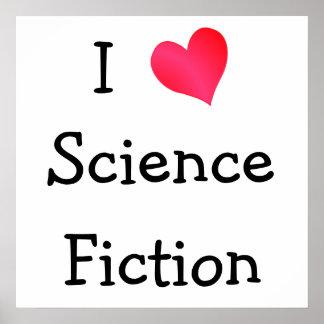 Amo la ciencia ficción póster