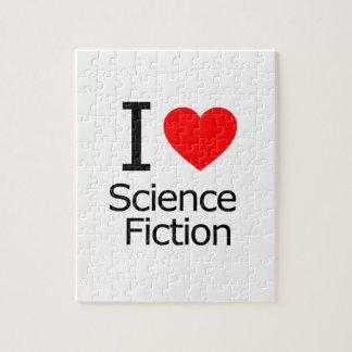 Amo la ciencia ficción rompecabeza