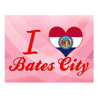 Amo la ciudad de Bates Missouri