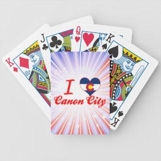 Amo la ciudad de Canon, Colorado Barajas De Cartas