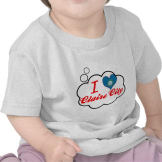 Amo la ciudad de Claire, Dakota del Sur Camiseta