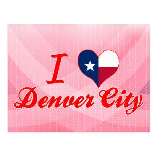 Amo la ciudad de Denver, Tejas Postal