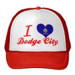 Amo la ciudad de Dodge, Kansas Gorra