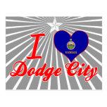 Amo la ciudad de Dodge, Kansas Postal