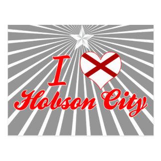 Amo la ciudad de Hobson, Alabama Postal