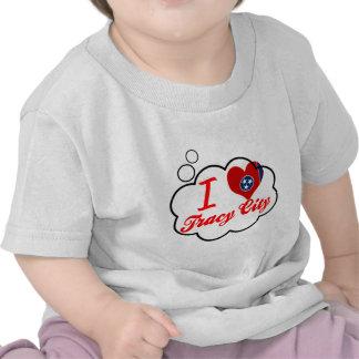 Amo la ciudad de Tracy, Tennessee Camiseta