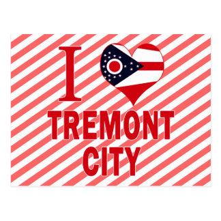 Amo la ciudad de Tremont, Ohio Postal