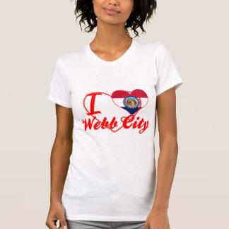 Amo la ciudad de Webb, Missouri Camisetas