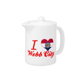 Amo la ciudad de Webb, Missouri