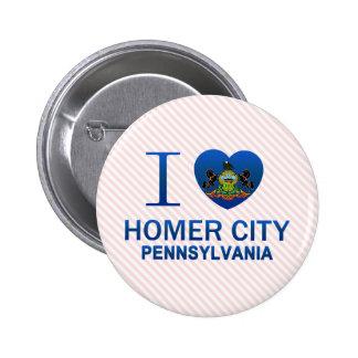 Amo la ciudad del home run, PA Pins