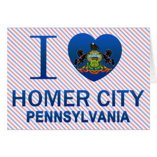Amo la ciudad del home run, PA Felicitacion
