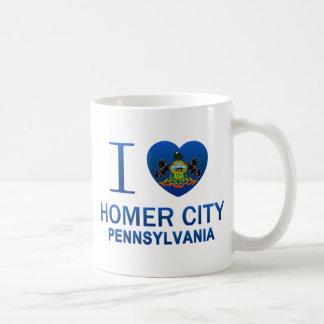 Amo la ciudad del home run, PA Taza De Café