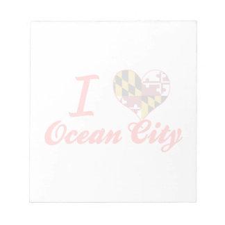 Amo la ciudad del océano, Maryland Bloc