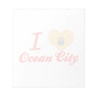 Amo la ciudad del océano, New Jersey Blocs De Notas