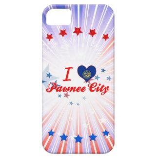 Amo la ciudad del Pawnee, Nebraska iPhone 5 Cárcasas