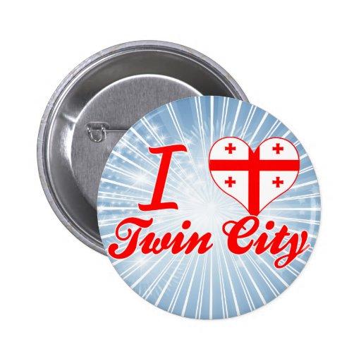 Amo la ciudad gemela, Georgia Pins