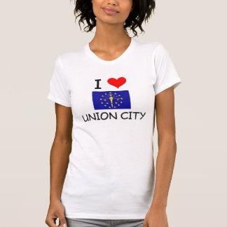 Amo la CIUDAD Indiana de la UNIÓN Camiseta
