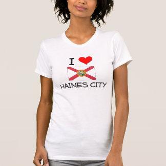 Amo la CIUDAD la Florida de HAINES Camiseta