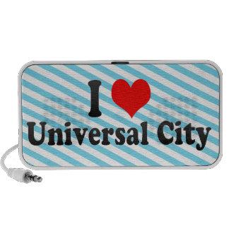 Amo la ciudad universal, Estados Unidos Altavoces