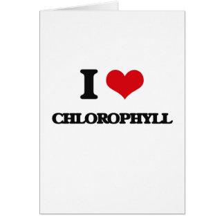 Amo la clorofila