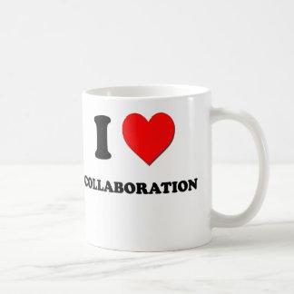 Amo la colaboración tazas de café