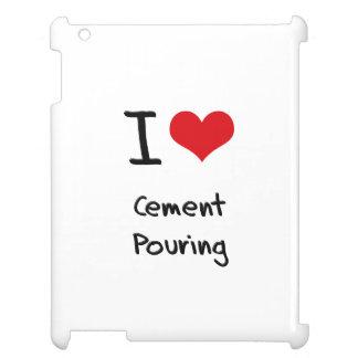 Amo la colada del cemento