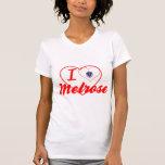 Amo la colada, Massachusetts Camiseta