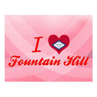 Amo la colina de la fuente, Arkansas Tarjeta Postal