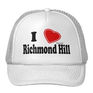 Amo la colina de Richmond Gorras De Camionero