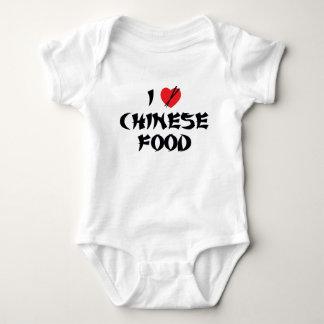 Amo la comida china remera