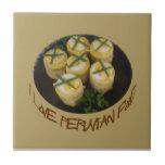 Amo la comida peruana - Causa Tejas Ceramicas