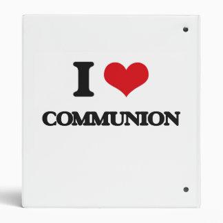 Amo la comunión