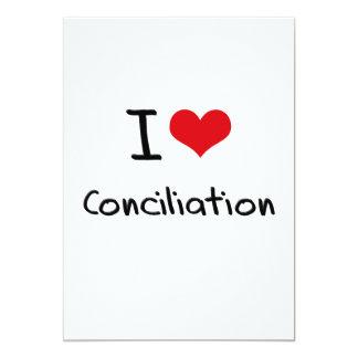 Amo la conciliación anuncio personalizado
