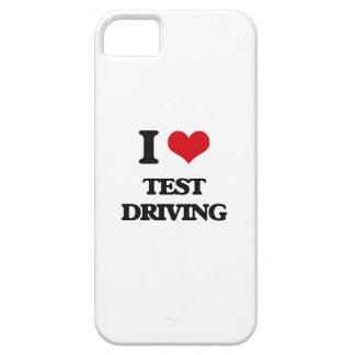 Amo la conducción de la prueba iPhone 5 funda