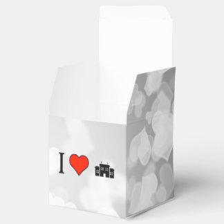 Amo la construcción de escuelas cajas para regalos