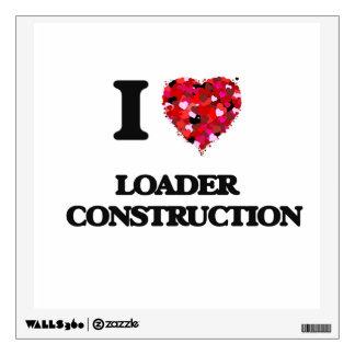 Amo la construcción   del cargador