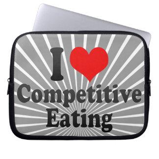 Amo la consumición competitiva fundas portátiles