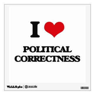 Amo la corrección política