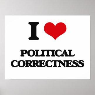 Amo la corrección política póster