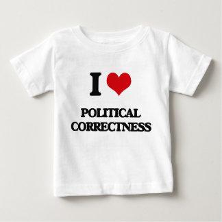 Amo la corrección política remeras