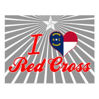 Amo la Cruz Roja, Carolina del Norte Postal