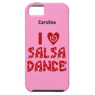 Amo la cubierta personalizada danza del iphone 5G Funda Para iPhone 5 Tough